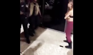 Fake girl gangster regrets taunting a police woman