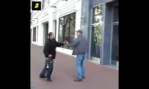 They started fights that they couldn't finish