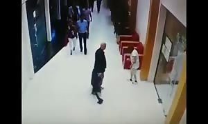 He knocked hotel maid out cold