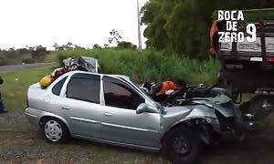 Death of hour in horrible car accident