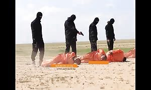 ISIS killing of five prisoners