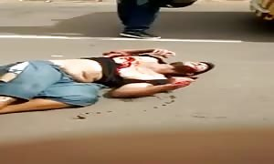 Motorbike accident in Brazil