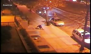 Drive by shooting cause on security camera in Washington