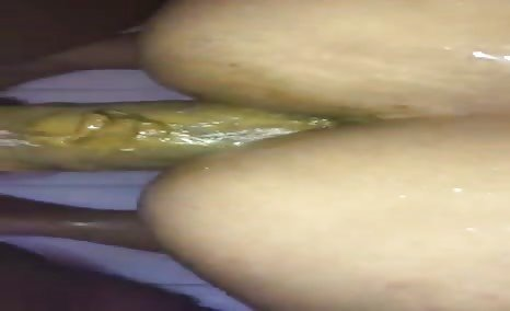 Dirty interracial scat fucking