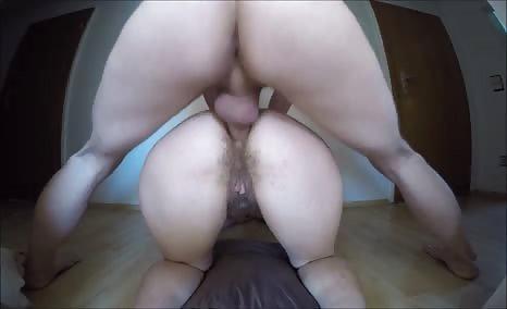 Amateur shitty anal fucking