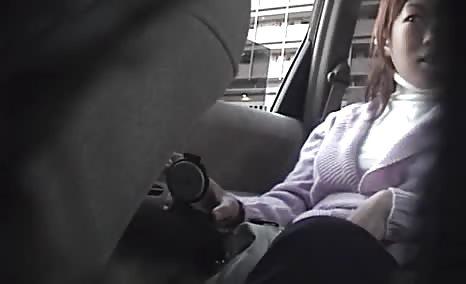 Japanese babe shitting in public