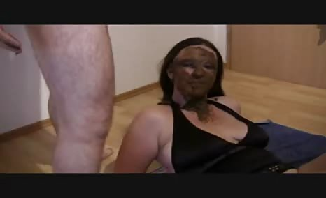 Shitting on wife's face